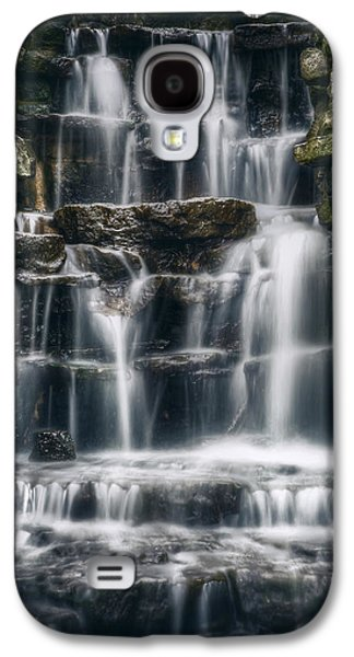 Lake Park Waterfall 2 Galaxy S4 Case