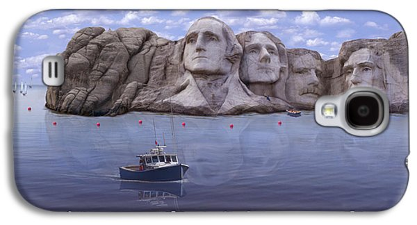 Lake Rushmore Galaxy S4 Case by Mike McGlothlen