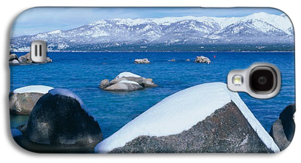 Lake Tahoe In Winter, California Galaxy S4 Case by Panoramic Images