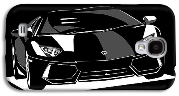 Car Galaxy S4 Case - Lamborghini Aventador by Michael Tompsett