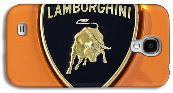 Lamborghini Emblem -0525c55 Galaxy S4 Case by Jill Reger
