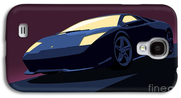 Lamborghini Murcielago - Pop Art Galaxy S4 Case