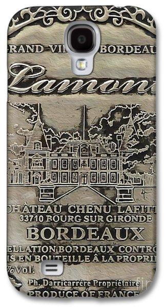 Lamont Grand Vin De Bordeaux  Galaxy S4 Case by Jon Neidert