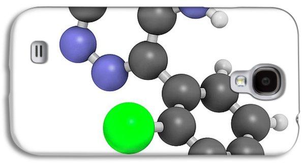 Lamotrigine Seizures Drug Molecule Galaxy S4 Case by Molekuul