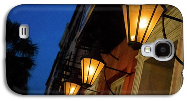 Lamps Lining The Streets At Duck Galaxy S4 Case