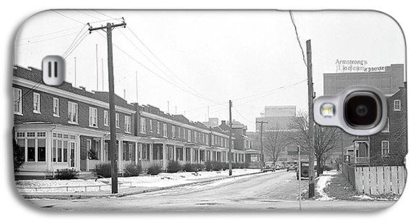 Lancaster, Pennsylvania - Housing. Homes Of Linoleum Galaxy S4 Case by Litz Collection