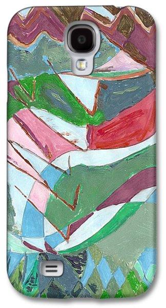 Land 3 Galaxy S4 Case by Howard Yosha