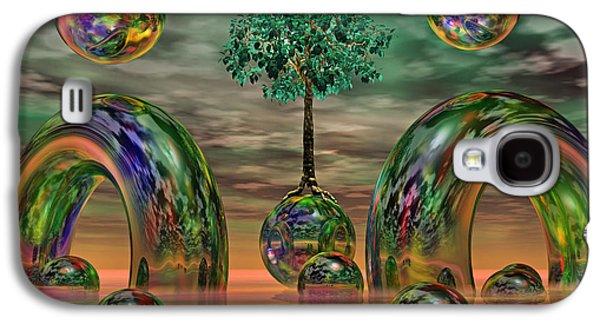 Land Of World 8624036 Galaxy S4 Case by Betsy Knapp