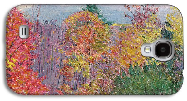 Landscape At Hancock In New Hampshire Galaxy S4 Case