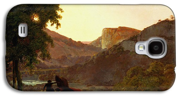 Landscape Galaxy S4 Case by Joseph Wright of Derby
