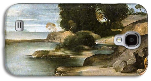 Landscape With St John The Evangelist Galaxy S4 Case