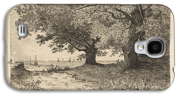 Landscape With Trees, Beach And Sea, Elias Stark Galaxy S4 Case