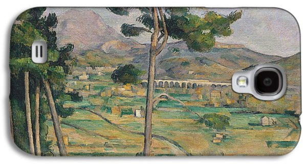 Landscape With Viaduct Galaxy S4 Case by Paul Cezanne