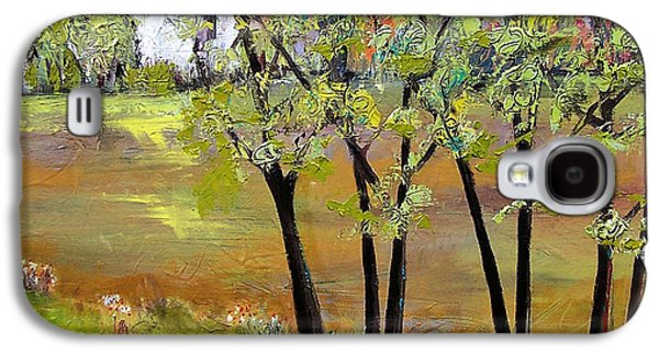 Landscapes Art - Hill House Galaxy S4 Case by Blenda Studio
