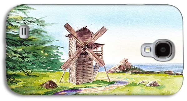 Landscapes Of California Fort Ross Windmill Galaxy S4 Case