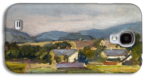 Landschaft In North Austria Galaxy S4 Case by Egon Schiele
