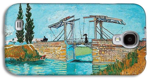 Langlois Bridge At Arles Galaxy S4 Case by Vincent van Gogh