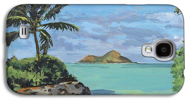 Lanikai Beach Path Galaxy S4 Case by Stacy Vosberg
