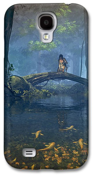 Lantern Bearer Galaxy S4 Case by Cynthia Decker