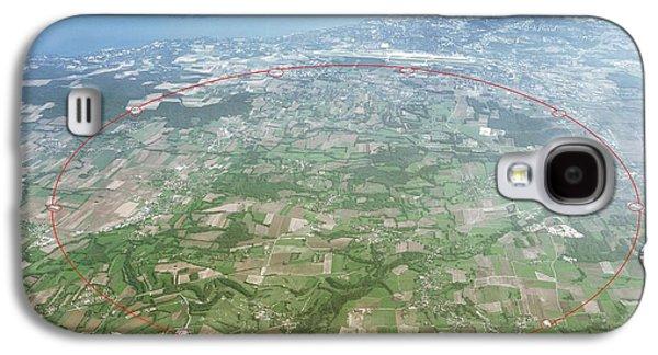 Large Hadron Collider Galaxy S4 Case