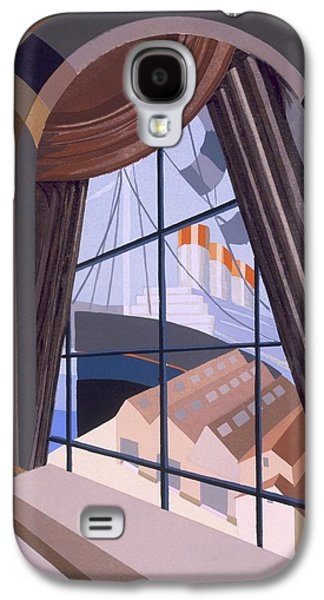 Large Window With A Seat, From Relais Galaxy S4 Case by Edouard Benedictus