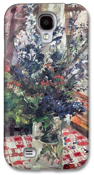 Larkspur Galaxy S4 Case by Lovis Corinth
