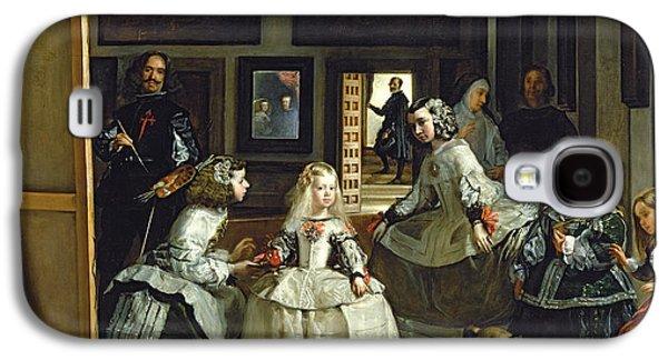 Las Meninas Or The Family Of Philip Iv, C.1656  Galaxy S4 Case by Diego Rodriguez de Silva y Velazquez
