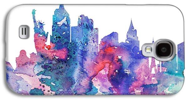 Las Vegas  Galaxy S4 Case by Watercolor Girl