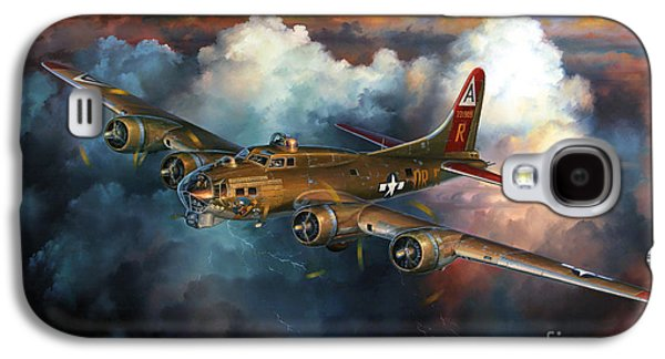 Helicopter Galaxy S4 Case - Last Flight For Nine-o-nine by Randy Green