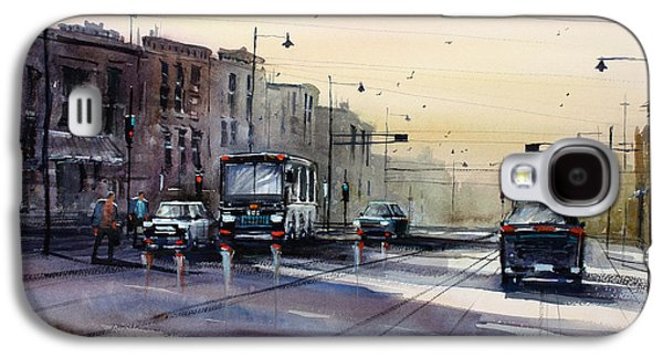 Last Light - College Ave. Galaxy S4 Case by Ryan Radke