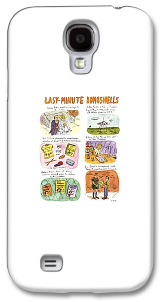Last-minute Bombshells Galaxy S4 Case by Roz Chast