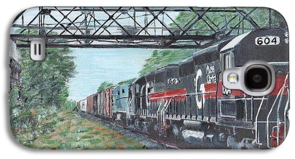 Last Train Under The Bridge Galaxy S4 Case