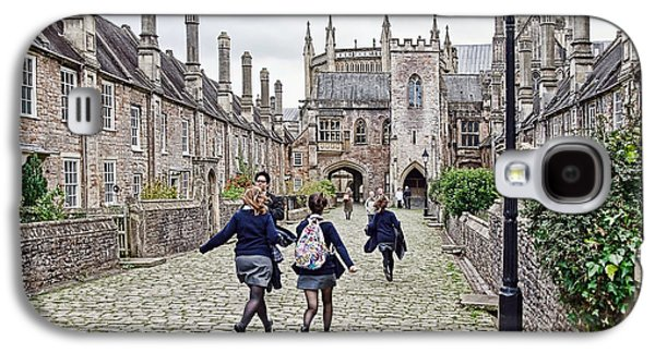 Late For Class Galaxy S4 Case by Susie Peek