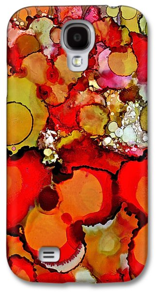 Late Summer Flowers Galaxy S4 Case by Bellesouth Studio