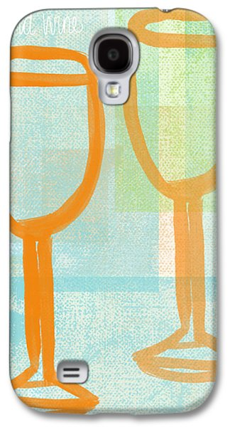Laugh And Wine Galaxy S4 Case by Linda Woods