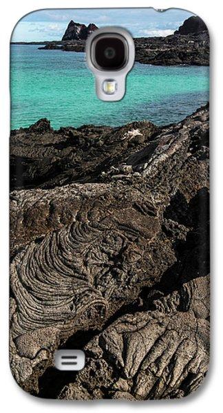 Lava Formations Sullivan Bay Santiago Galaxy S4 Case by Pete Oxford