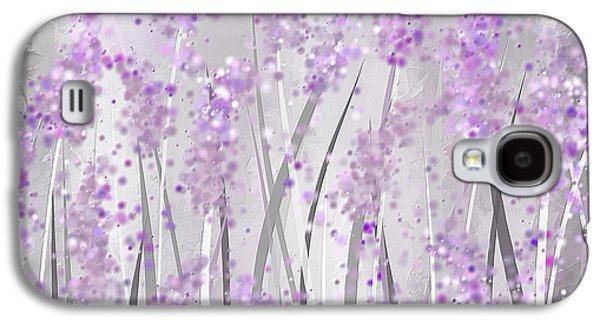Lavender Art Galaxy S4 Case by Lourry Legarde