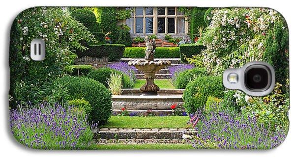 Lavender Country Garden Galaxy S4 Case by Gill Billington