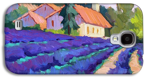 Lavender Field In St. Columne Galaxy S4 Case by Diane McClary
