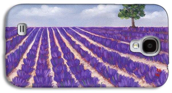Lavender Season Galaxy S4 Case