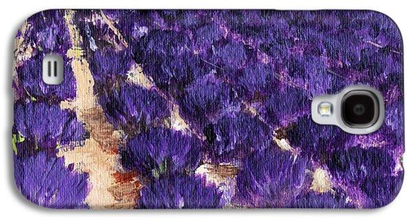 Lavender Study - Marignac-en-diois Galaxy S4 Case by Anastasiya Malakhova