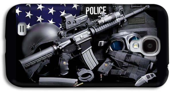 Law Enforcement Tactical Police Galaxy S4 Case