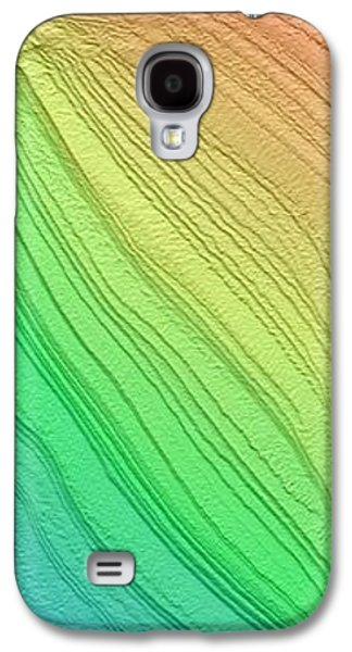 Layered South Polar Deposites Galaxy S4 Case