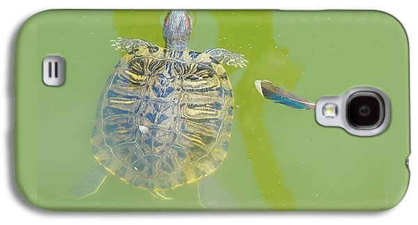 Lazy Summer Afternoon - Floating Turtle Galaxy S4 Case