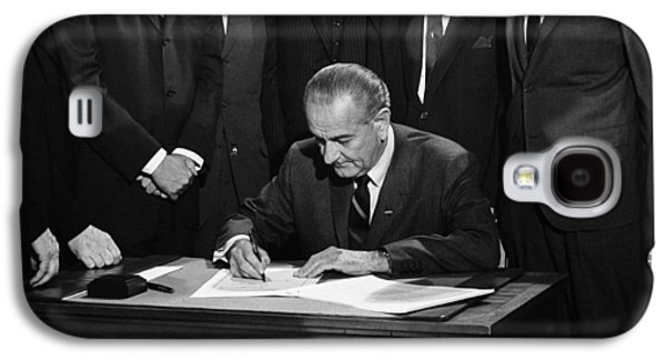 Lbj Signs Civil Rights Bill Galaxy S4 Case