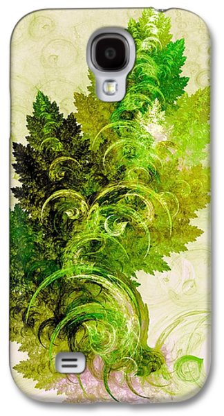 Leaf Reflection Galaxy S4 Case by Anastasiya Malakhova
