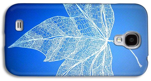 Leaf Study 5 Galaxy S4 Case by Cathy Jacobs