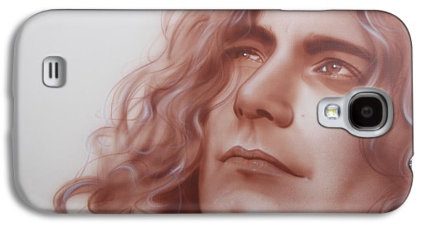 Robert Plant Galaxy S4 Case - Leaves Are Falling All Around by Christian Chapman Art