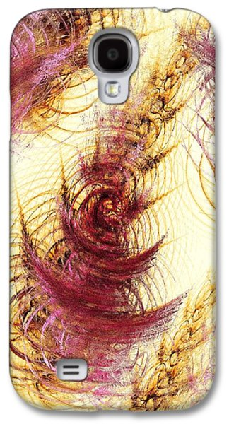 Autumn Leaf On Water Galaxy S4 Cases - Leaves on a Water Galaxy S4 Case by Anastasiya Malakhova