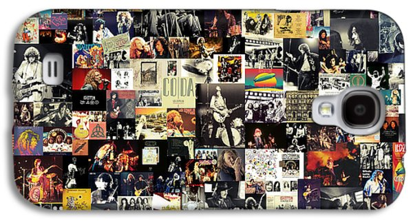 Musicians Galaxy S4 Case - Led Zeppelin Collage by Zapista